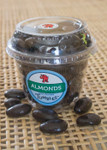 Dark Chocolate Premium Almonds Large Packaged