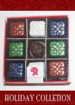 Christmas Truffle Collection 9 Piece box TOP VIEW