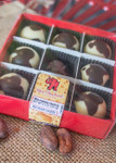 Big Cheese Truffle 9 Piece box with clear lid