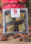 Packer Truffles 4pc boxed from front