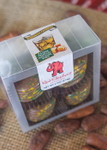 Packer Truffles 4pc boxed from top