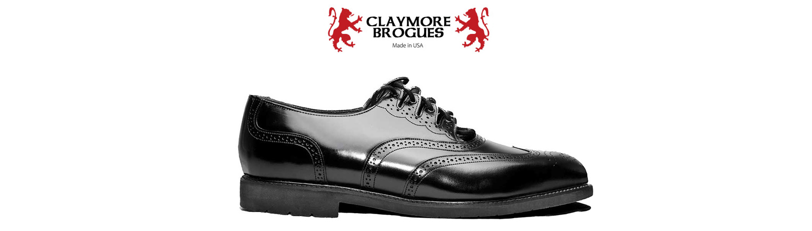 Claymore Ghillie brogues