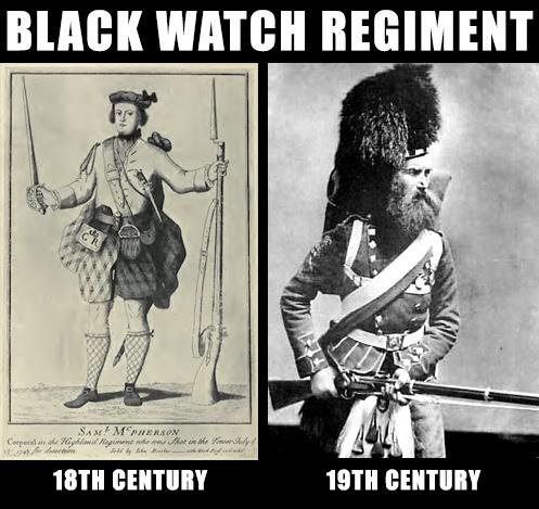Black watch regiment