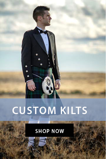 Custom Scottish Kilt