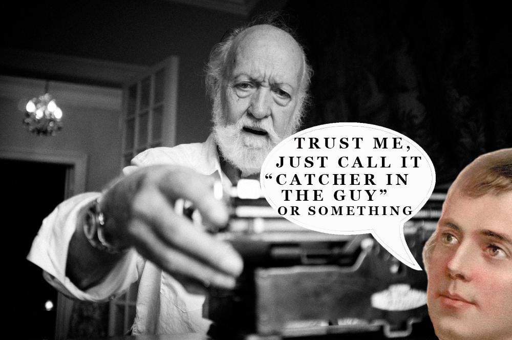 Robert Burns influenced JD Salinger