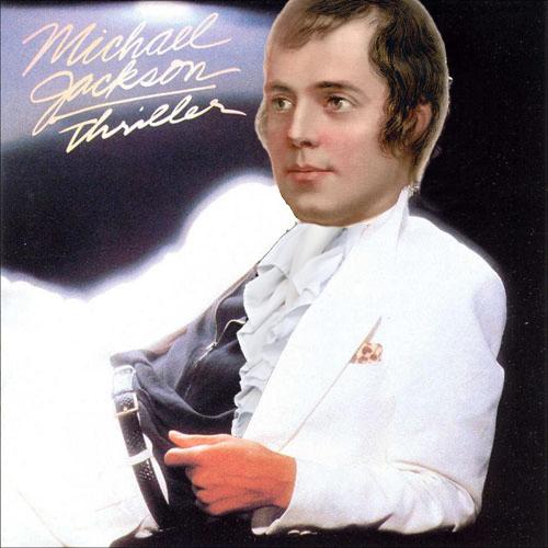 Michael Jackson, MJ, wrote Robert Burns Musical, said Rabbie was huge influence
