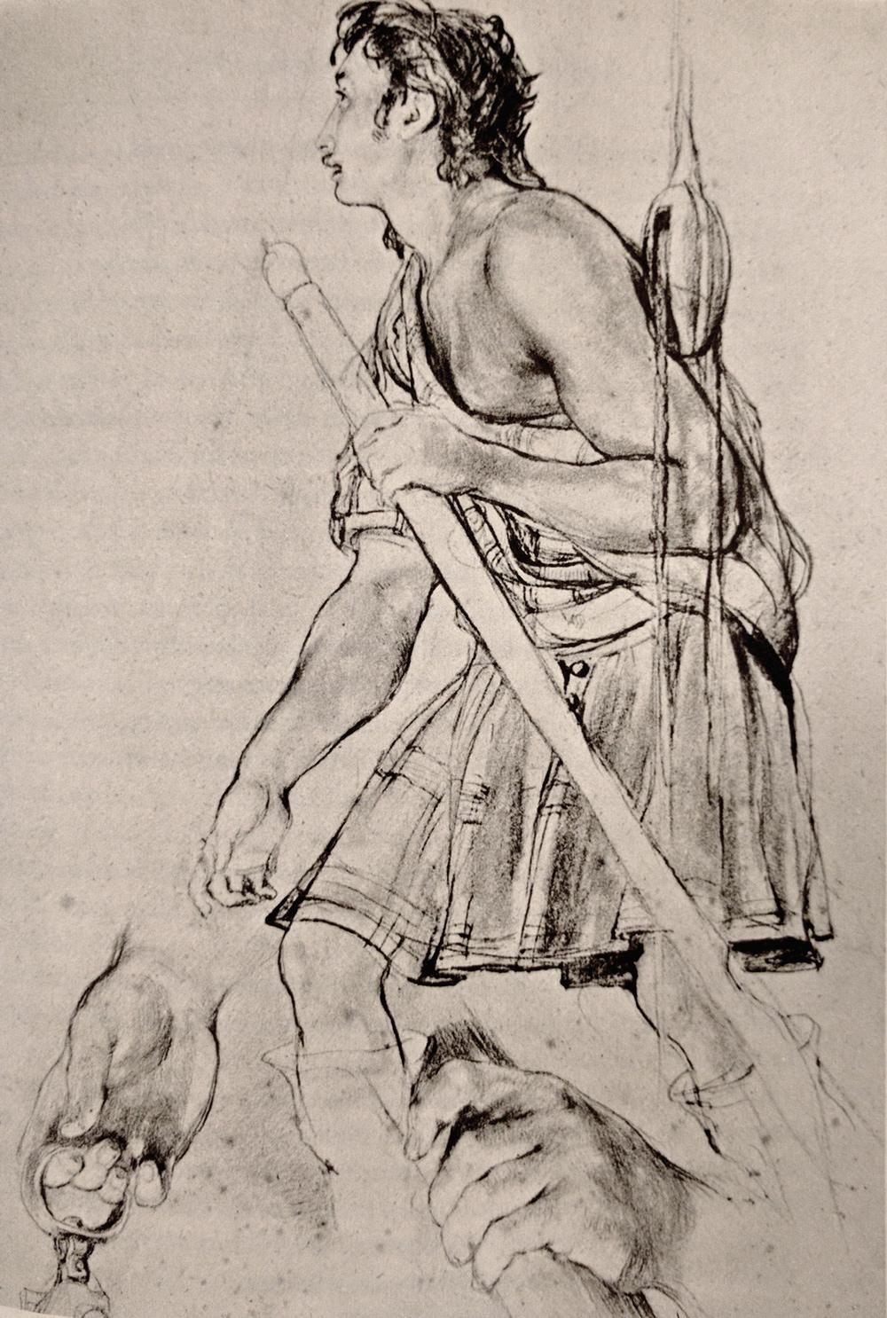 Sir David Wilkie Sketch of a poor highlander