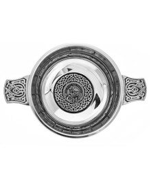Quaich with Clan Crest 4""
