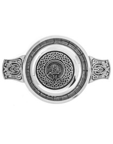 Quaich with Clan Crest 3""