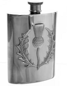"Thistle Flask -  Polished - 4.5"" - 30466"