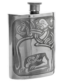 "Zoomorphic Flask -  Polished - 4.5"" - 30596"