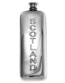 "Scotland Flask - Polished 5.5"" - 36017"