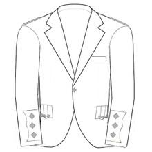 Custom Argyle Jacket