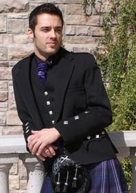 Argyle jacket with PC Cuffs