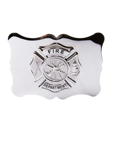 Fire Department Kilt Belt Buckle - FIRE01CP