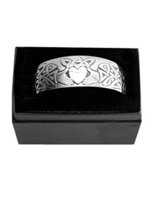 Knotwork Claddagh Bracelet