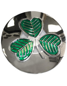 Shamrock Plaid Brooch - GMP5ECP