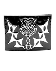 Highland Thistle Kilt Belt Buckle - GMB10ECP