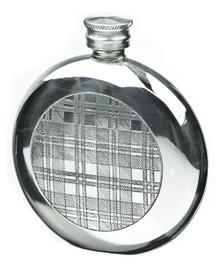 Tartan Flask, Round FL30