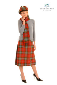 Classic Ladies Kilted Skirt