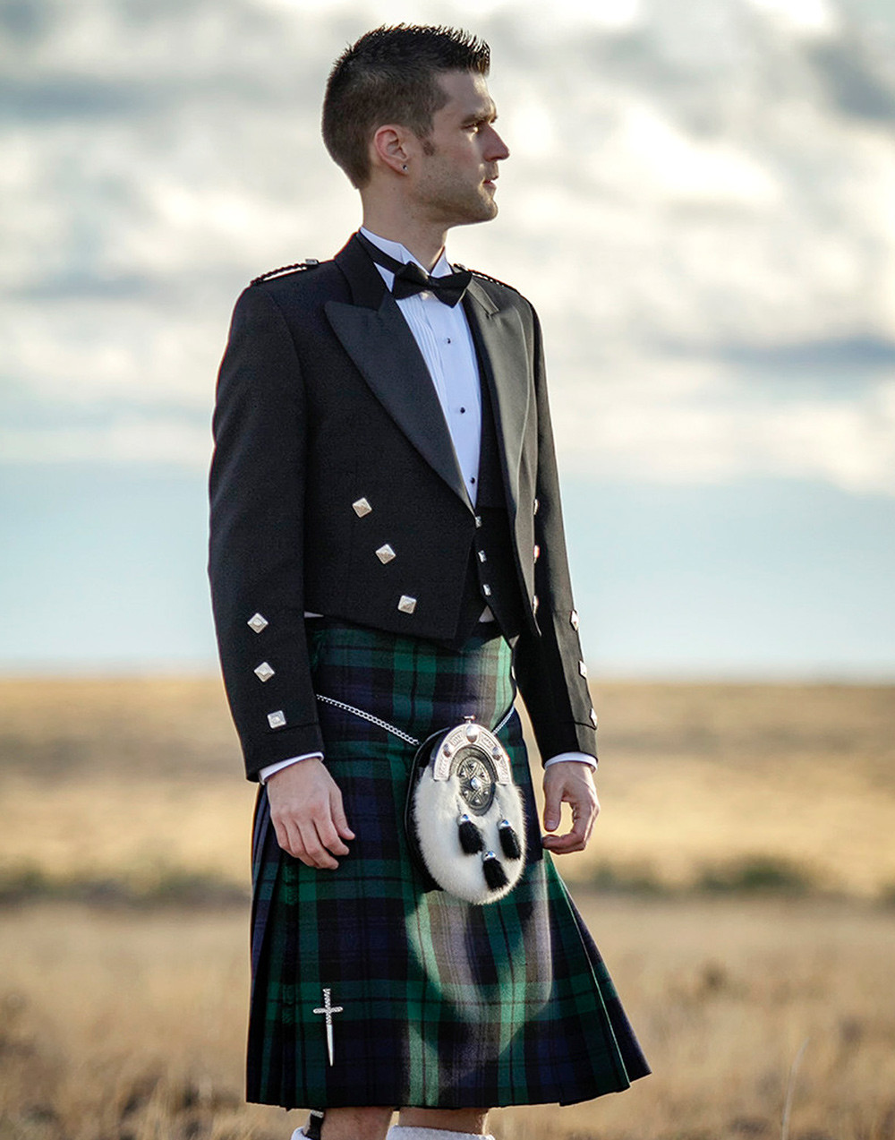 Custom Made Authentic Scottish Kilt