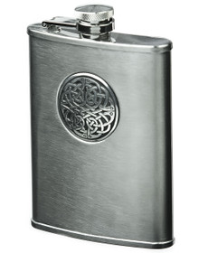 Brushed Stainless Steel - Celtic Knot