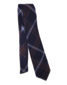 Jewish Tartan necktie. High quality tartan wool fabric, made in Scotland. Beautiful Kosher necktie