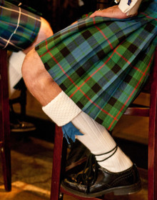 Custom Top Stitch Kilt