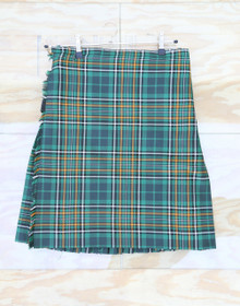 "Ireland's National Tartan Top Stitch Kilt 34""-37"" W x 23"" L"