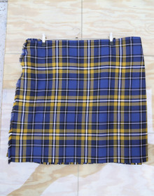 "Used Kilt: County Longford 48""-52"" W x 25"" L"