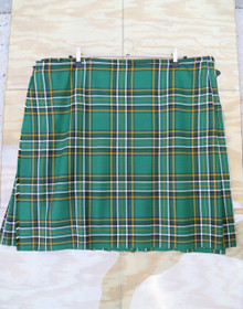 "Used Kilt: Irish National 32""-35"" W x 22"" L"