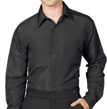 Used Black Lay Down Shirt