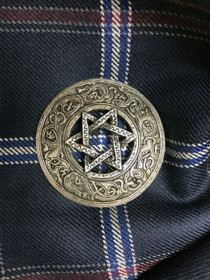 Norse Star Brooch - NRP 9/8/2011/13