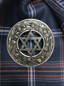 Star of David Brooch - KPS 7/27/201/2