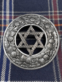Star of David Brooch Image