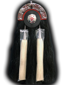Horse Hair Fire Department Sporran - Maltese