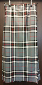 "New Ladies Hostess Skirt: Thompson Grey 32""-35"" W x 38"" L"
