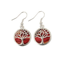 Heathergems Tree of Life Earrings - HE89