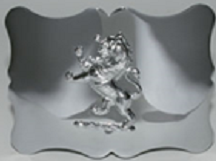 Traditional Lion Kilt Belt Buckle - Polished