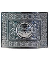 Highland Serpent Kilt Belt Buckle - Polished - GMB09CP