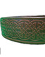 Celtic Leather Belt - Dark Brown Image 2