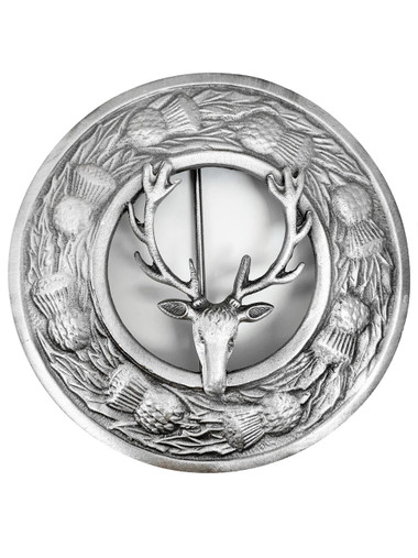GMP39AS stag antique brooch image