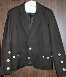 Pre-owned Argyle Style Jacket with Braemar Cuffs - 2 Button