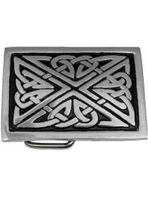 Celtic Rectangle Trouser Buckle GMBS003 Image