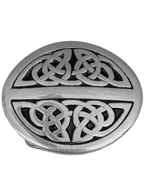 Celtic Oval Trouser Buckle GMBS004 image