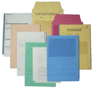 Custom Patent & Trademark Folders