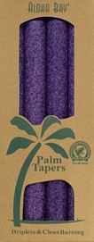 Coconut Wax Taper - Purple