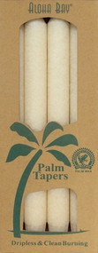 Coconut Wax Taper - Ivory