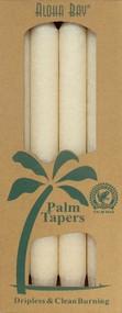 Coconut Wax Taper - Ivory