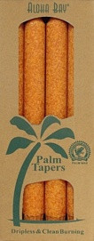 Coconut Wax Taper - Orange